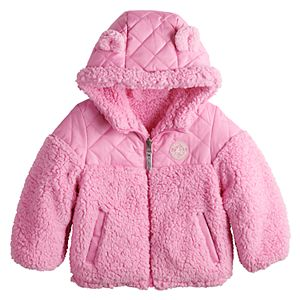 Toddler Girl ZeroXposur Midweight Reversible Jacket