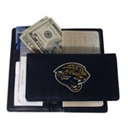Jacksonville Jaguars Leather Checkbook Wallet