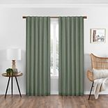 eclipse Absolute Zero Nora Solid 100% Blackout Window Curtain