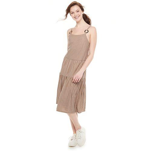 Juniors' Speechless Tiered Dress