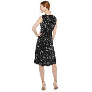 Petite Suite 7 Dot Midi Dress