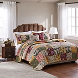 Greenland Home Fashions Antique Chic Quilt and Sham Set