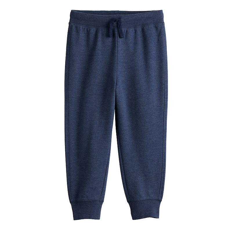 Toddler Boy Jumping Beans French Terry Jogger Pants, Toddler Boy's, Size: 5T, Dark Blue
