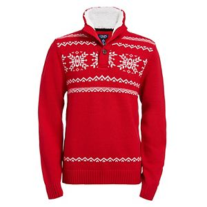 Boys 8-20 Chaps Sherpa Sweater