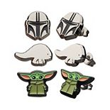 Star Wars The Mandalorian Mando Helmet, The Child, & Blurrg Earring Set