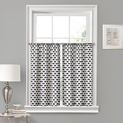 Vue Window Solutions Modo Window Curtain Tier Pair