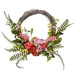 National Tree Company 20-in. Artificial Spring Flowers Wreath