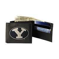 Brigham Young University Cougars Bifold Leather Wallet