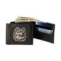 University of Connecticut Huskies Bifold Leather Wallet