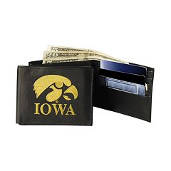 University of Iowa Hawkeyes Bifold Leather Wallet