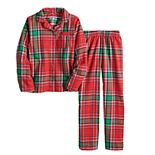 Girls 7-16 Jammies For Your Families® Jingle All The Way Flannel Top & Pants Pajama Set