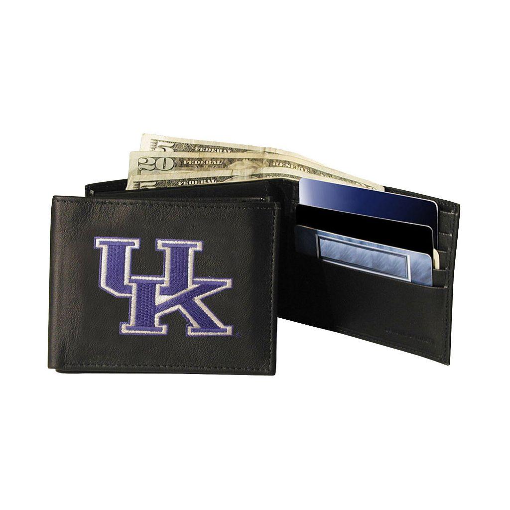 University of Kentucky Wildcats Bifold Leather Wallet