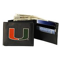 University of Miami Hurricanes Bifold Wallet
