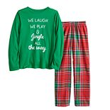 Boys 4-20 Jammies For Your Families® Jingle All The Way Top & Pants Pajama Set