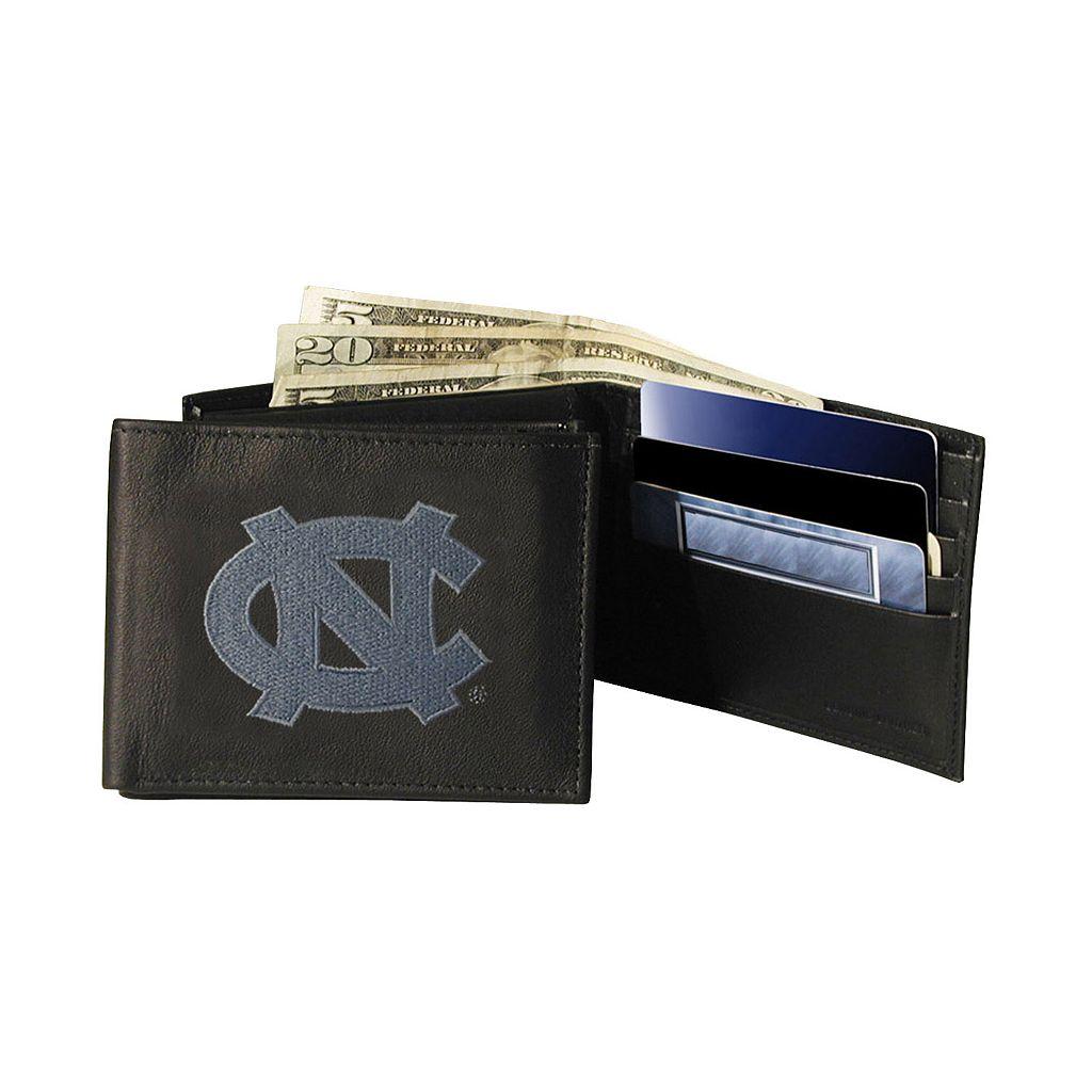 University of North Carolina Tar Heels Bifold Leather Wallet