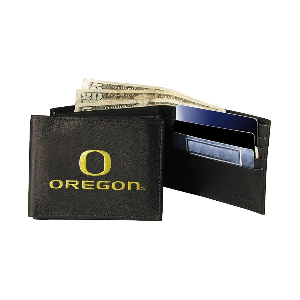 Oregon Ducks Bifold Leather Wallet
