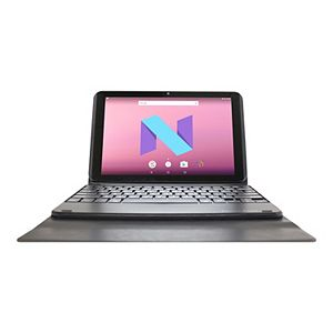 "Visual Land Prestige Elite 10.1"" HD 16GB Android 2-in-1 Tablet with Docking Keyboard & Case"