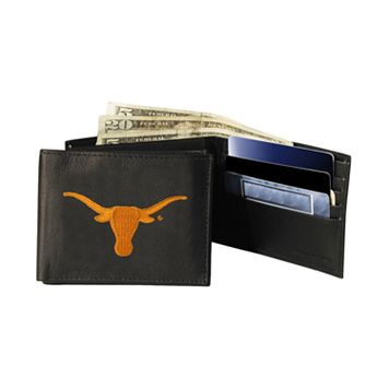 University of Texas Longhorns Bifold Leather Wallet