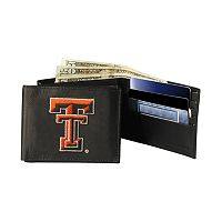 Texas Tech University Red Raiders Bifold Leather Wallet