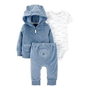 Baby Boy Carter's 3-Piece Bear Little Jacket Set