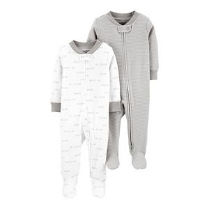 Baby Carter's 2-Pack Zip-Up Cotton Sleep & Plays