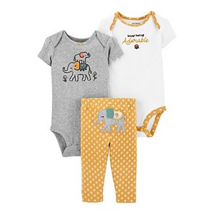 Baby Carter's 3-Piece Elephant Little Character Set