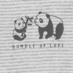 Baby Carter's 3-Piece Panda Little Character Set