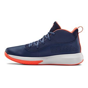 Under Armour Lockdown 4 Grade School Kids' Basketball Shoes