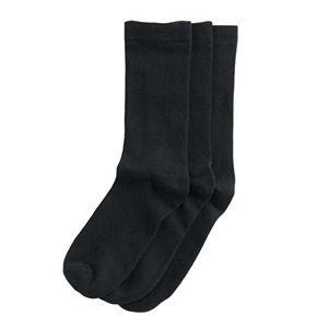 Women's Sonoma Goods For Life® Cotton Rich Crew Socks 3-Pack