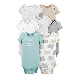 Baby Carter's 7-Pack Short-Sleeve Original Bodysuits