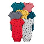 Baby Carter's 7-Pack Animal Original Bodysuits