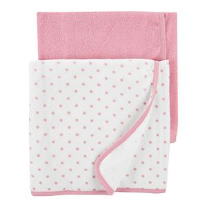 Baby Girl Carter's 2-Pack Baby Towels