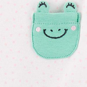 Baby Girl Carter's 3-Piece Frog Little Character Set