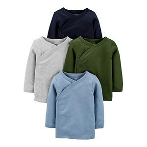 Baby Carter's 4-Pack Side-Snap Tees