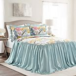 Lush Decor Sydney Bedspread and Sham Set