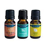 Energy Boost Citrus Boost, Eucalyptus & Lemon Essential Oil 3-piece Set