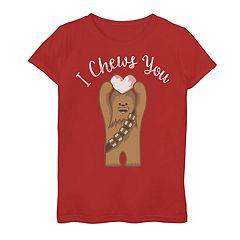 Girls 7-16 Star Wars Chewbacca 'I Chews You' Graphic Tee