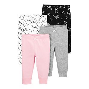Baby Carter's 4-Pack Pull-On Pants