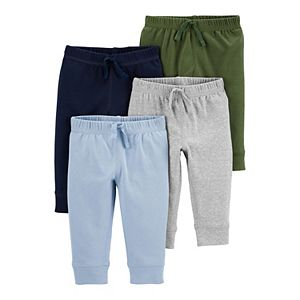 Baby Boy Carter's 4-Pack Pull-On Pants
