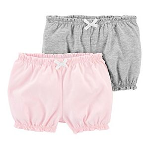 Baby Girl Carter's 2-Pack Pull-On Bubble Shorts