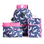 Girls Love @ First Sight 6-pc. Backpack Set