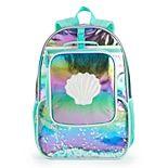 Girls Love @ First Sight 2-pc. Metallic Mermaid Backpack Set