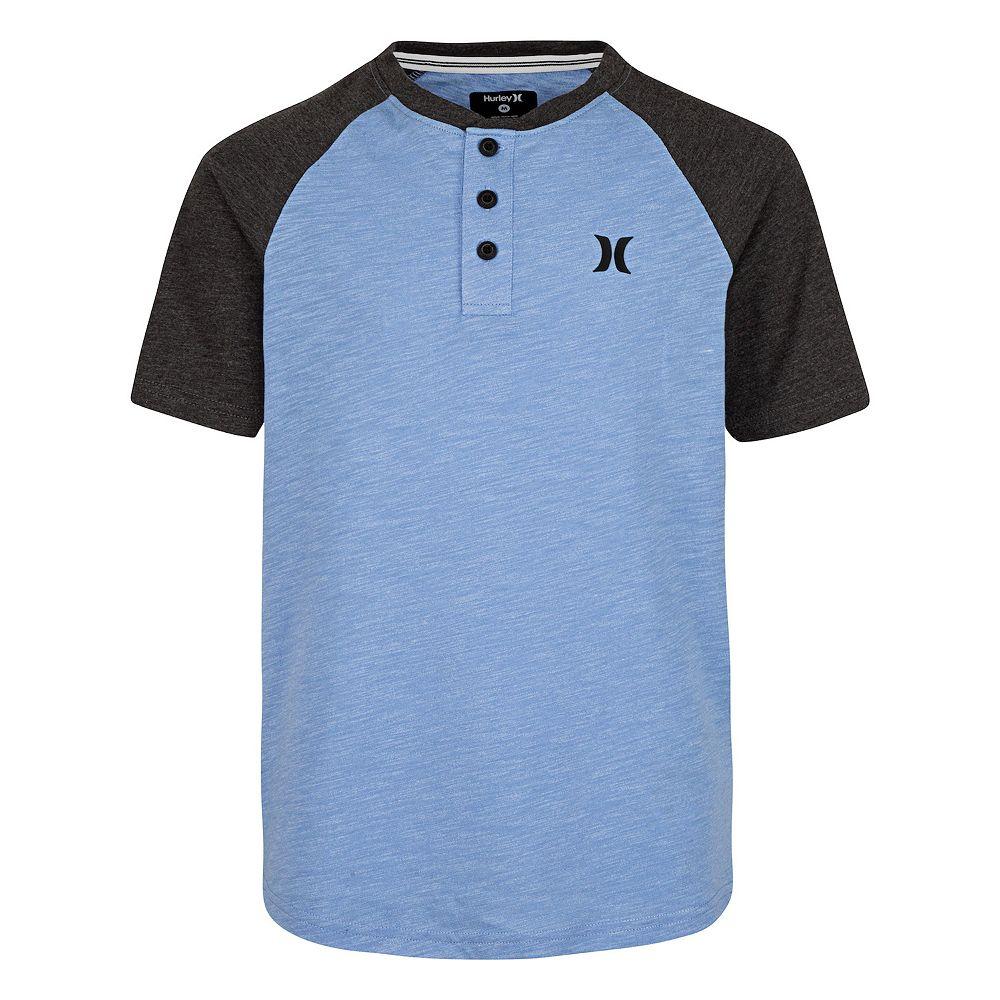 Boys 8-20 Hurley Raglan Henley Shirt