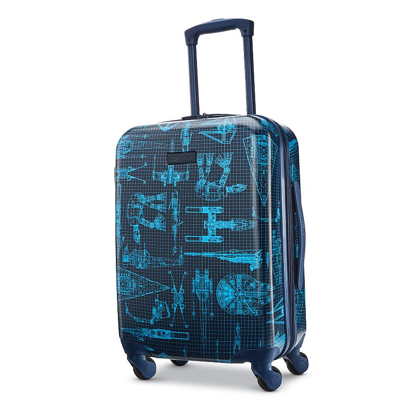American Tourister Star Wars Intergalactic Hardside Spinner Luggage, 28 INCH