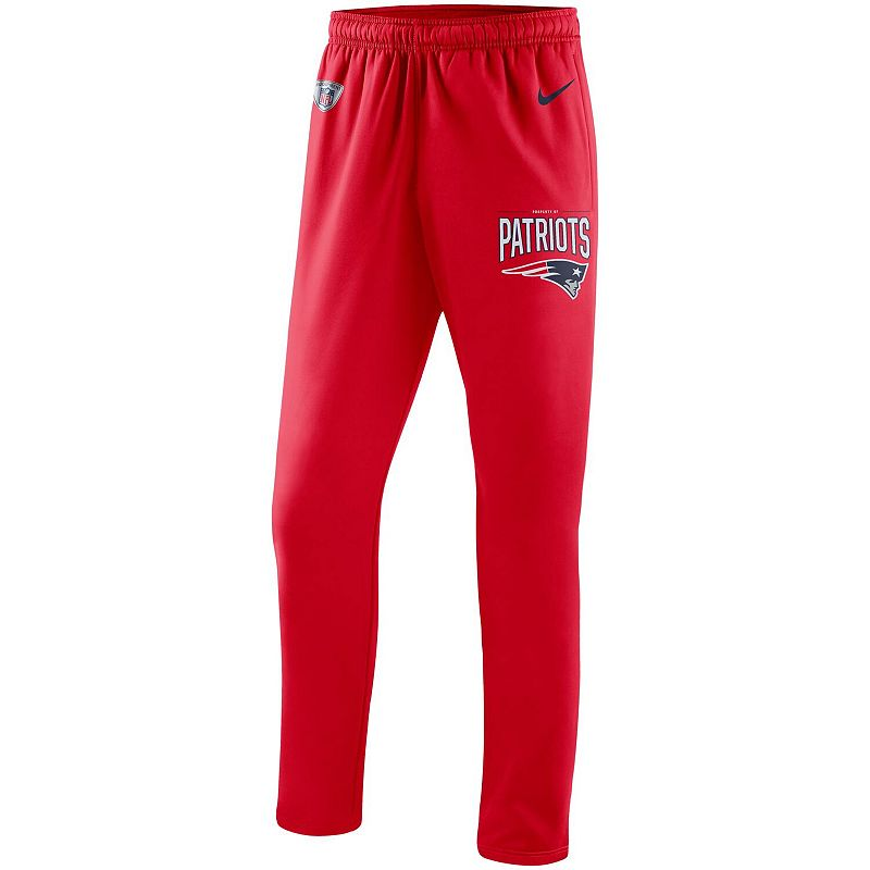 Men's Nike Red New England Patriots Sideline Practice Performance Pants, Size: 3XL
