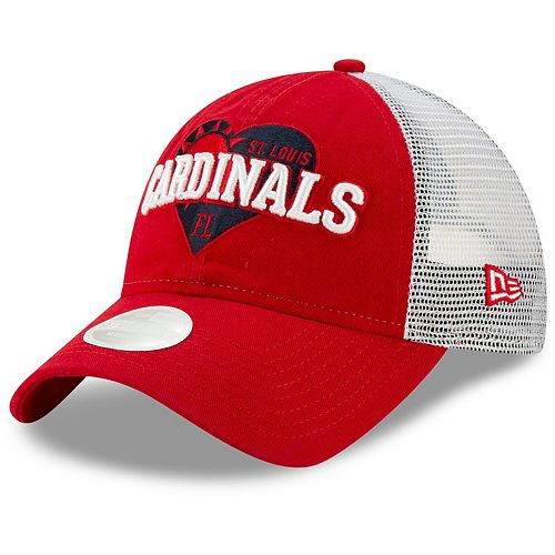pick up exclusive shoes best choice Men's New Era Red St. Louis Cardinals Sun Snapped Trucker ...
