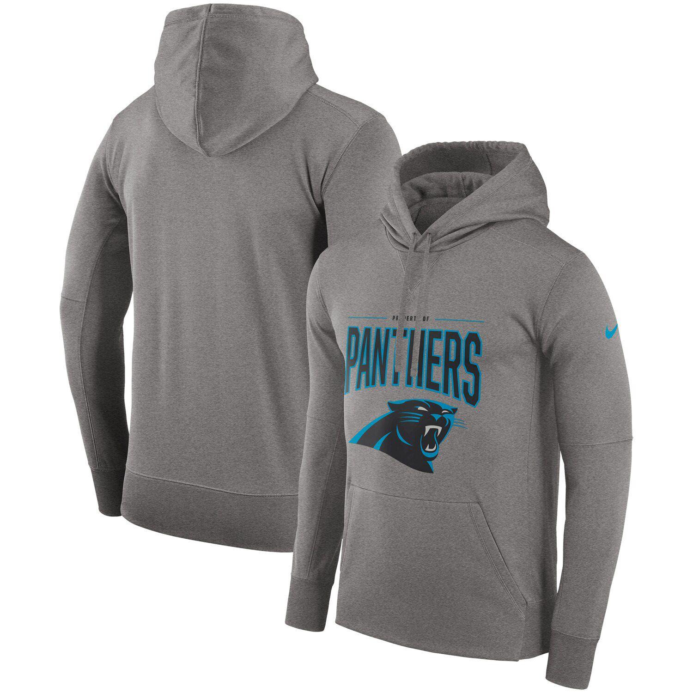 Nike Gray Carolina Panthers Sideline