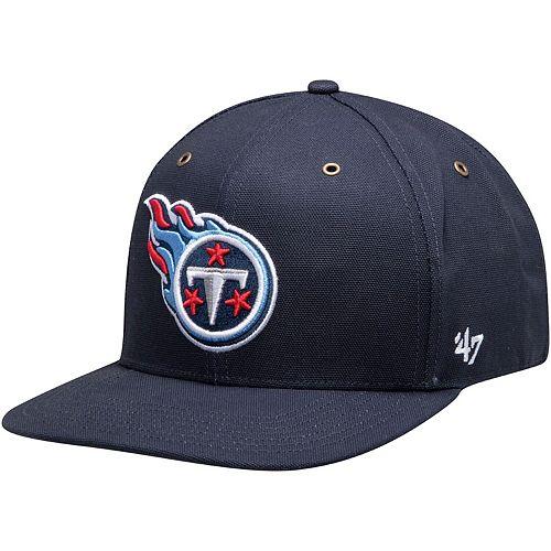 Men's Carhartt X '47 Navy Tennessee Titans Team Captain Snapback Hat