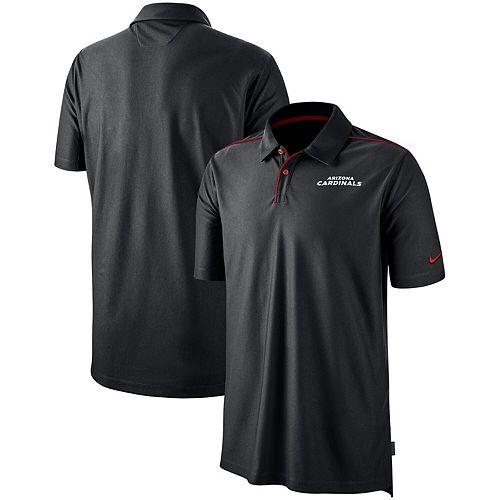 Arizona Cardinals Nike Sideline Team Issue Performance Polo - Black
