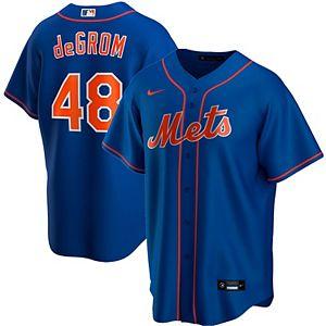 Men's Nike Jacob deGrom Royal New York Mets Alternate 2020 Replica Player Jersey